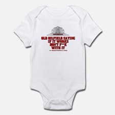 Oilfield Saying Infant Bodysuit