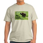The nose knows Light T-Shirt