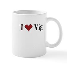 I heart Yig Mug