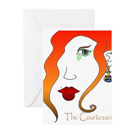 The Courtesan Greeting Cards (Pk of 10)