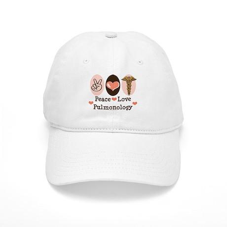 Peace Love Pulmonology Cap
