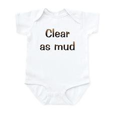 CW Clear As Mud Infant Bodysuit