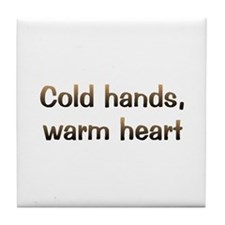 CW Cold Hands Tile Coaster