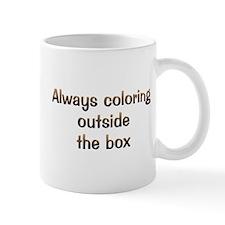 CW Always Coloring Mug