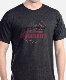 Female Soldiers Created Equal T-Shirt