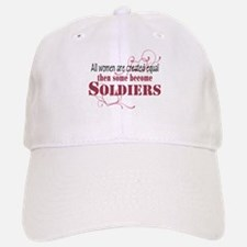 Female Soldiers Created Equal Baseball Baseball Cap
