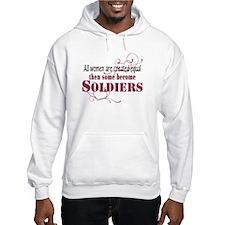 Female Soldiers Created Equal Hoodie