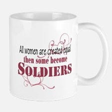 Female Soldiers Created Equal Mug