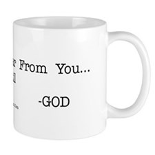 I Love to Hear From You... Mug