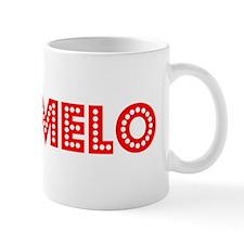 Retro Carmelo (Red) Mug