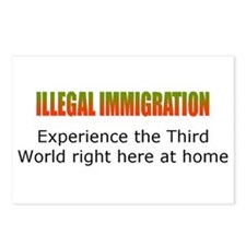Cute Secure border Postcards (Package of 8)