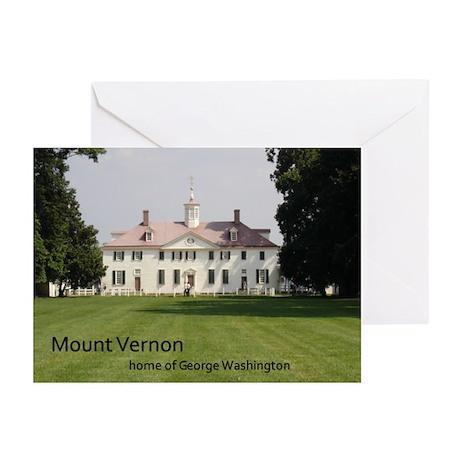Mount Vernon Greeting Cards (Pk of 10)