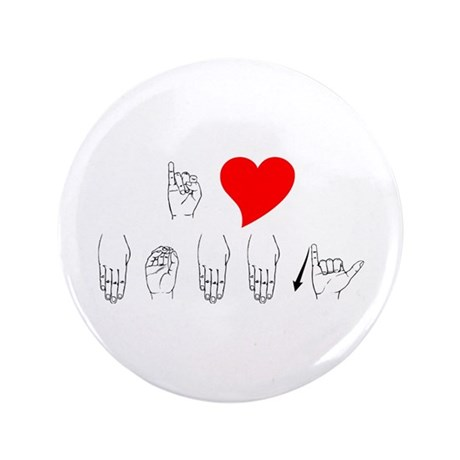 """I Heart Mommy 3.5"""" Button (100 pack)"""