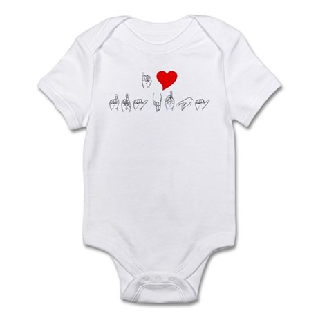I Heart Grandpa Infant Bodysuit