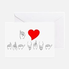 I Heart Grandma Greeting Card