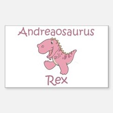 Andreaosaurus Rex Rectangle Decal