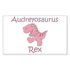 Audreyosaurus Rex Rectangle Decal