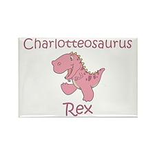 Charlotteosaurus Rex Rectangle Magnet