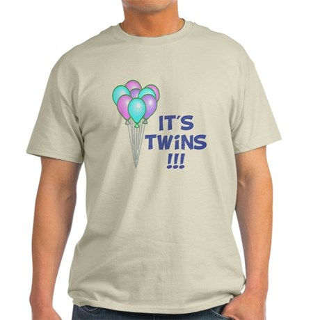 It's Twin Boys - Vintage Light T-Shirt