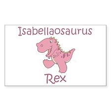 Isabellaosaurus Rex Rectangle Decal
