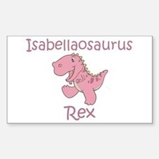 Isabellaosaurus Rex Rectangle Decal