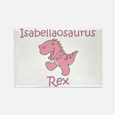 Isabellaosaurus Rex Rectangle Magnet