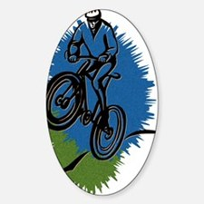 Cycling D1 Oval Decal