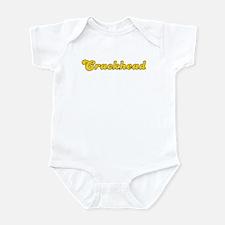 Retro Crackhead (Gold) Infant Bodysuit