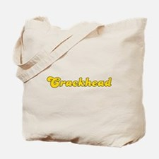 Retro Crackhead (Gold) Tote Bag