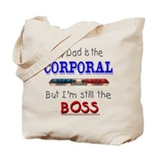 Dad is Corporal Tote Bag