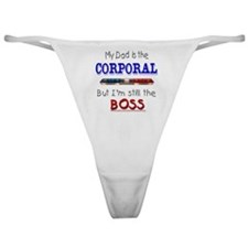 Dad is Corporal Classic Thong