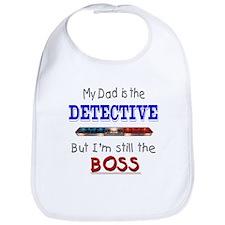 Dad is Detective Bib