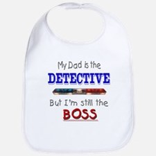 Dad is Detective Bib