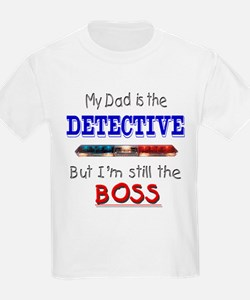 Dad is Detective T-Shirt