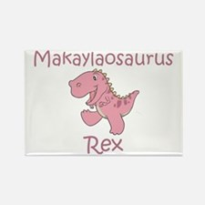 Makaylaosaurus Rex Rectangle Magnet