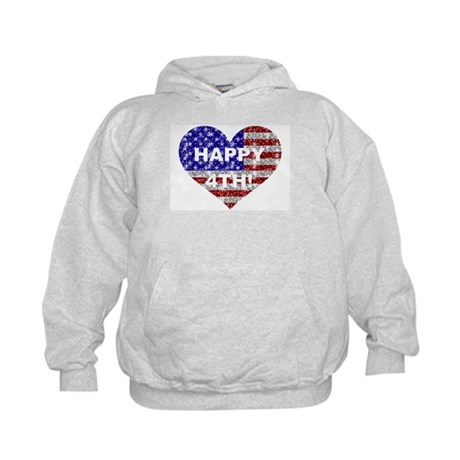 HAPPY 4TH Kids Hoodie