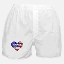 HAPPY 4TH Boxer Shorts