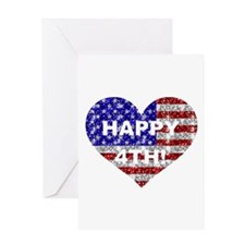 HAPPY 4TH Greeting Card