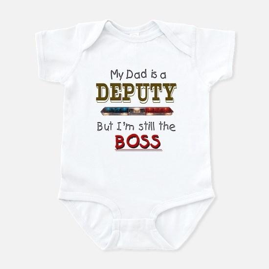 Dad is Deputy Infant Bodysuit