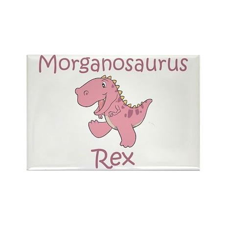 Morganosaurus Rex Rectangle Magnet