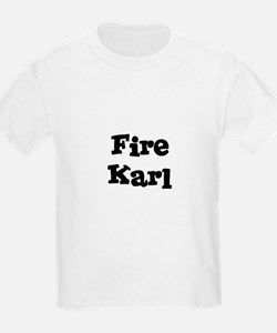 Fire Karl Kids T-Shirt