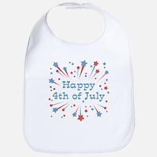 Happy 4th Of July Bib