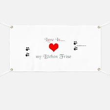 Bichon Love Banner