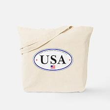 USA Emblem Tote Bag