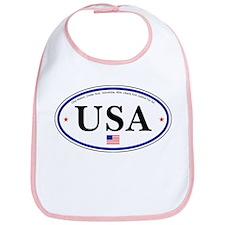 USA Emblem Bib