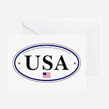 USA Emblem Greeting Card