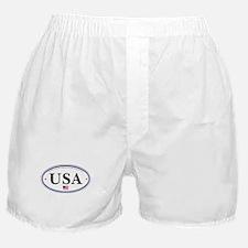 USA Emblem Boxer Shorts