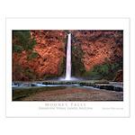 Mooney Falls Small Poster