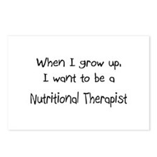 When I grow up I want to be a Nutritional Therapis