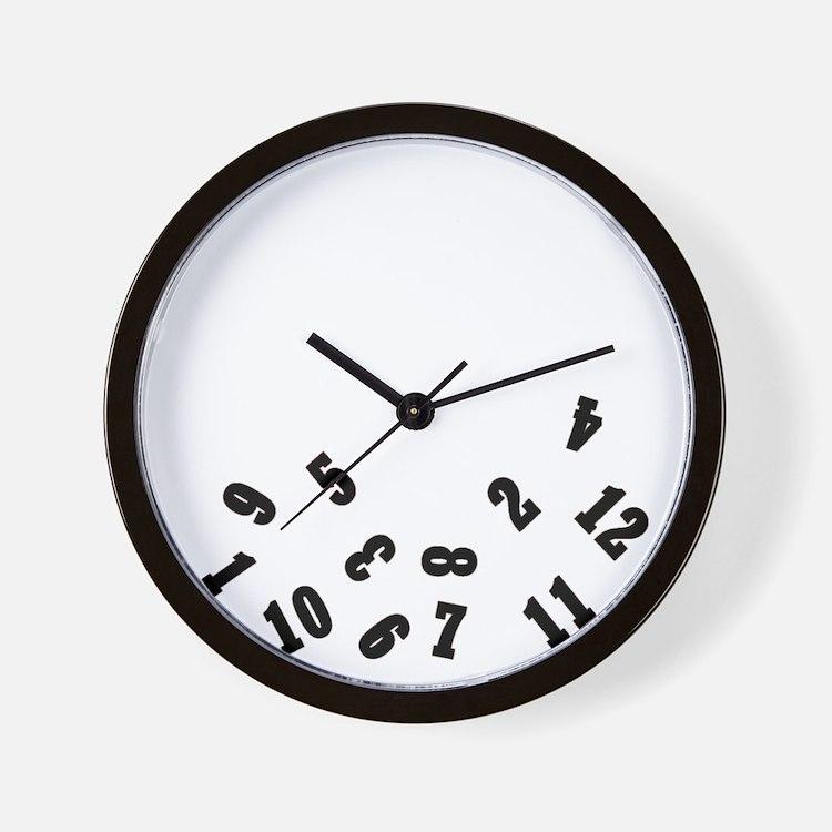 Falling Numbers Clocks Falling Numbers Wall Clocks